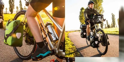 Browse our range of Bags, Panniers and other storage solutions for Bikes and Scooters