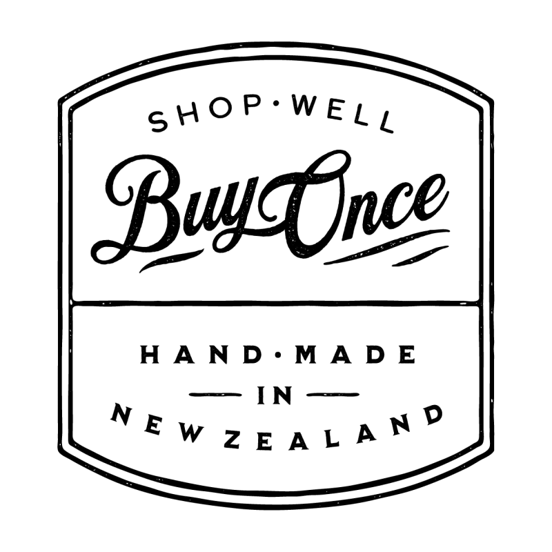 Shop well buy once. Hand made in New Zealand