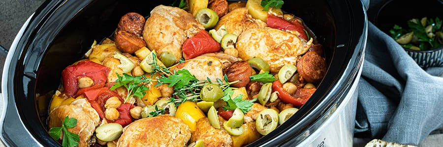 Winter warmers cookware collection from Prestige. Slow cookers, stock pots and casseroles, to pressure cookers and roasters