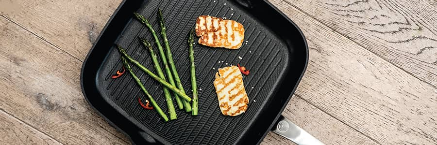Circulon non-stick grill pans and griddle pans allow you to cook in a healthier way