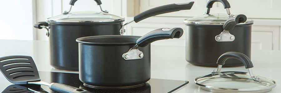 Circulon non stick saucepans and milk pans are designed for confident cooking, safe in the knowledge food won't stick. Our range includes stainless steel saucepans and milk pans, as well as hard anodized options for maximum durability.