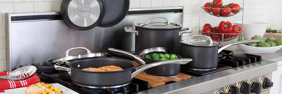 Circulon Infinite cookware range - non-stick, high performance and long lasting