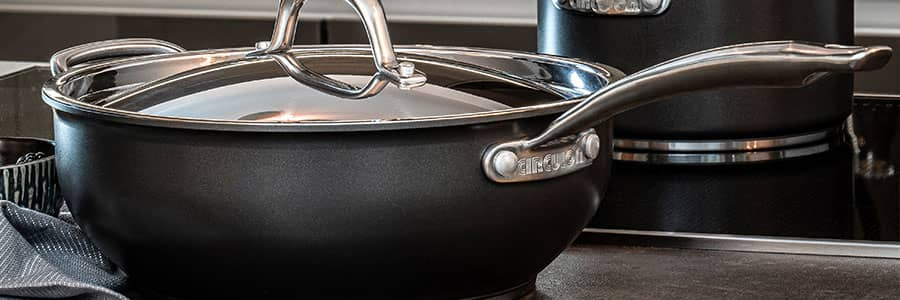 Non stick sauté pans and chef pans from Circulon