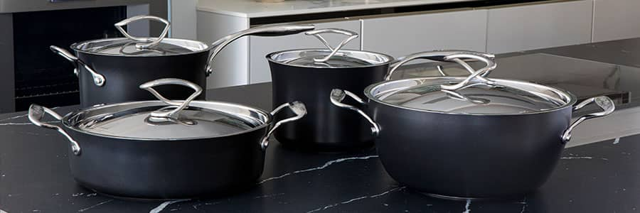 Circulon Style - probably the most stylish cookware on the market! With beautiful stay cool handles for hob to oven to table serving. Induction cookware at its best.