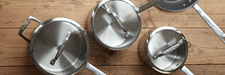 Authority Multi-Ply Clad Stainless Steel Cookware from Anolon UK. Designed to elevate your cooking experience.