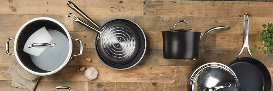 Kitchen pan sets are great, but you always end up with cookware pieces you don't need. However with Anolon, you can choose 3 or more products from our Create Your Own range, build your own tailored pan set - and get 15% off!