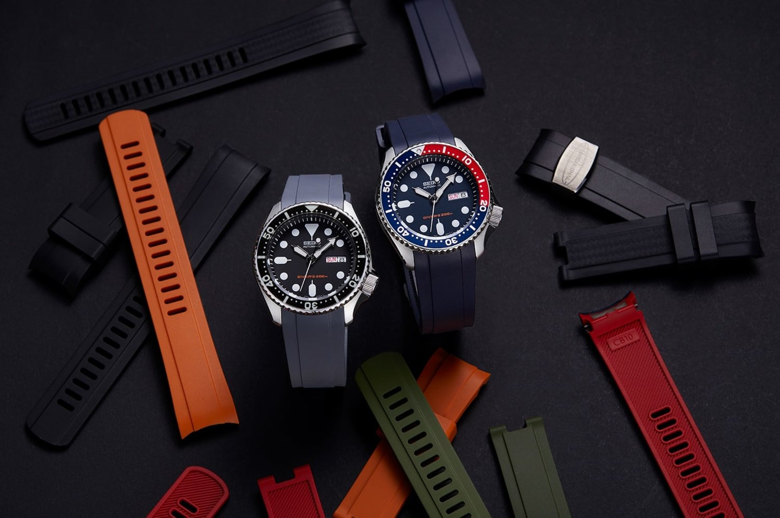rubber watch straps for seiko