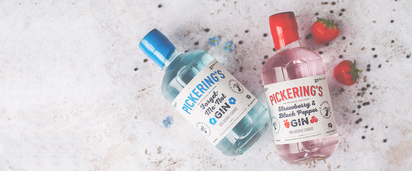 Our fantastic selection of flavoured gin in one place