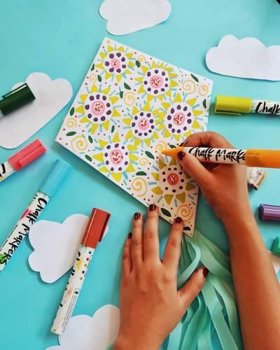 DIY Kites - Chalk Markers
