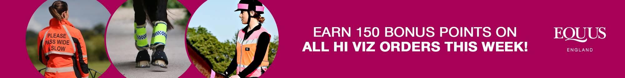 Hi Viz - 150 Bonus Rosette Reward Points