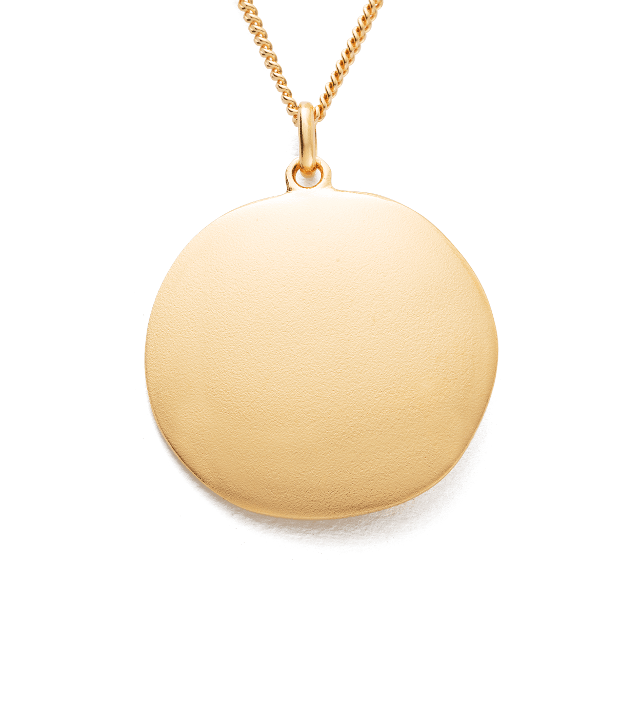 BY THE SEA COIN NECKLACE (18K GOLD VERMEIL)