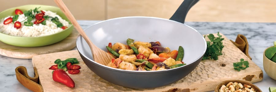 Earth Pan is an eco cookware range.  Choose a PFOA free pan with a difference!
