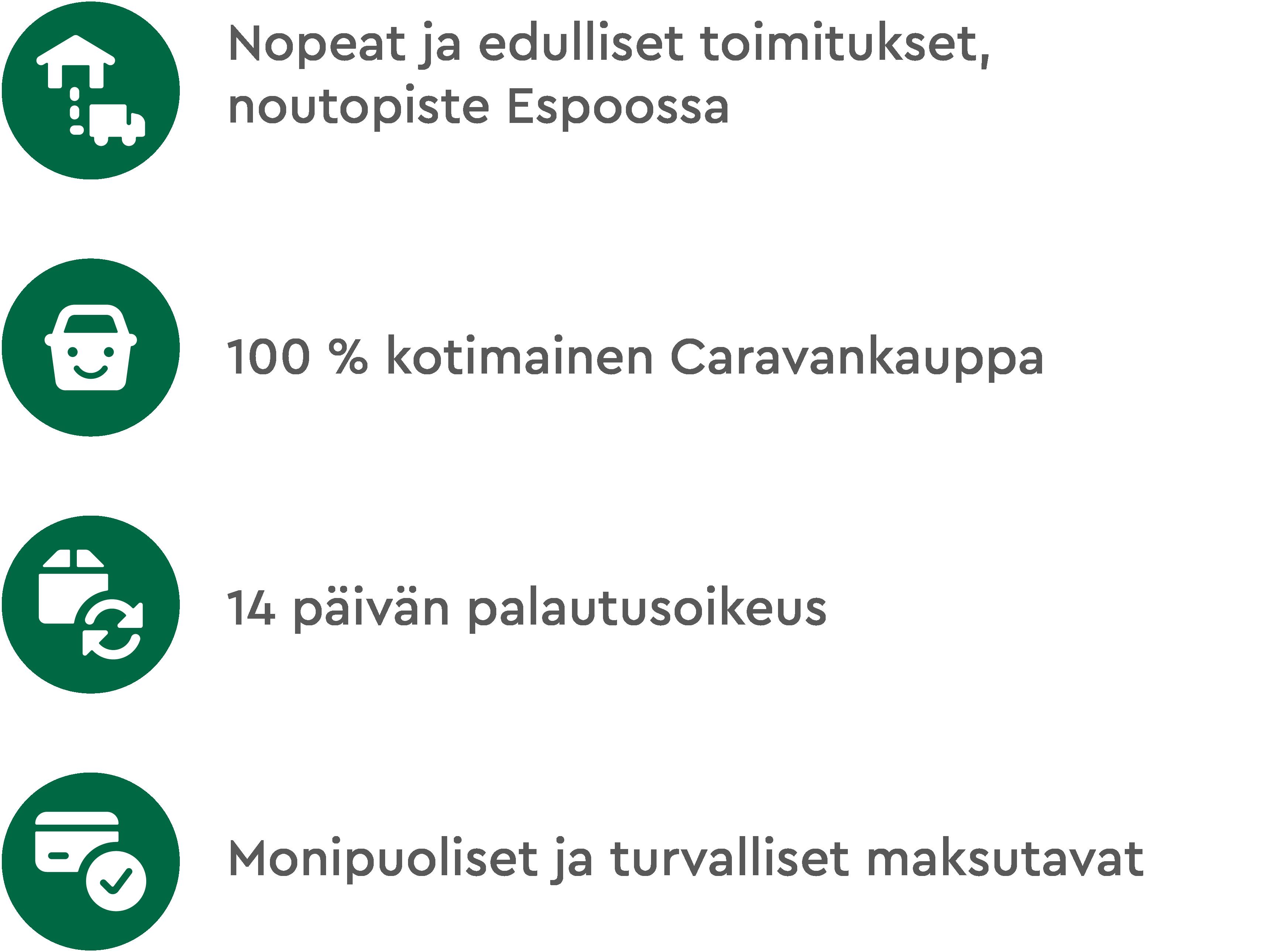 ProCaravan - Luotettava verkkokauppa