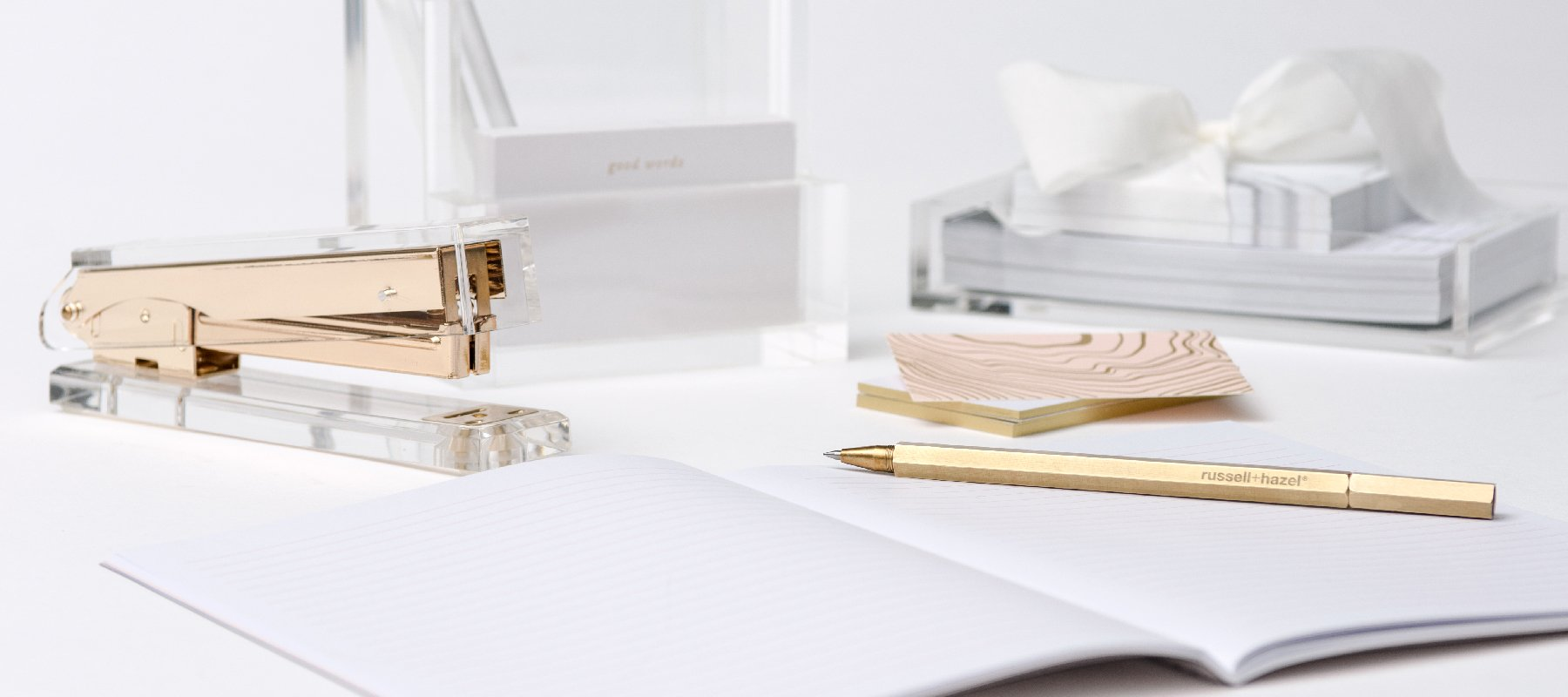 Office + Desk Organization - russell+hazel