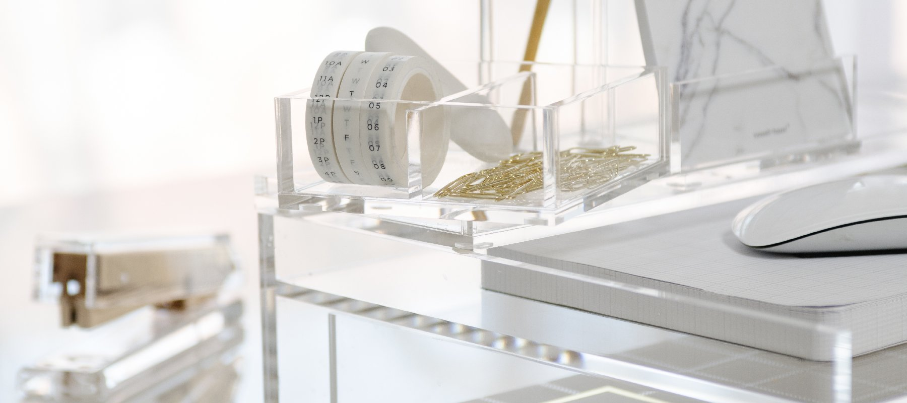 Acrylic Desk Essentials - russell+hazel
