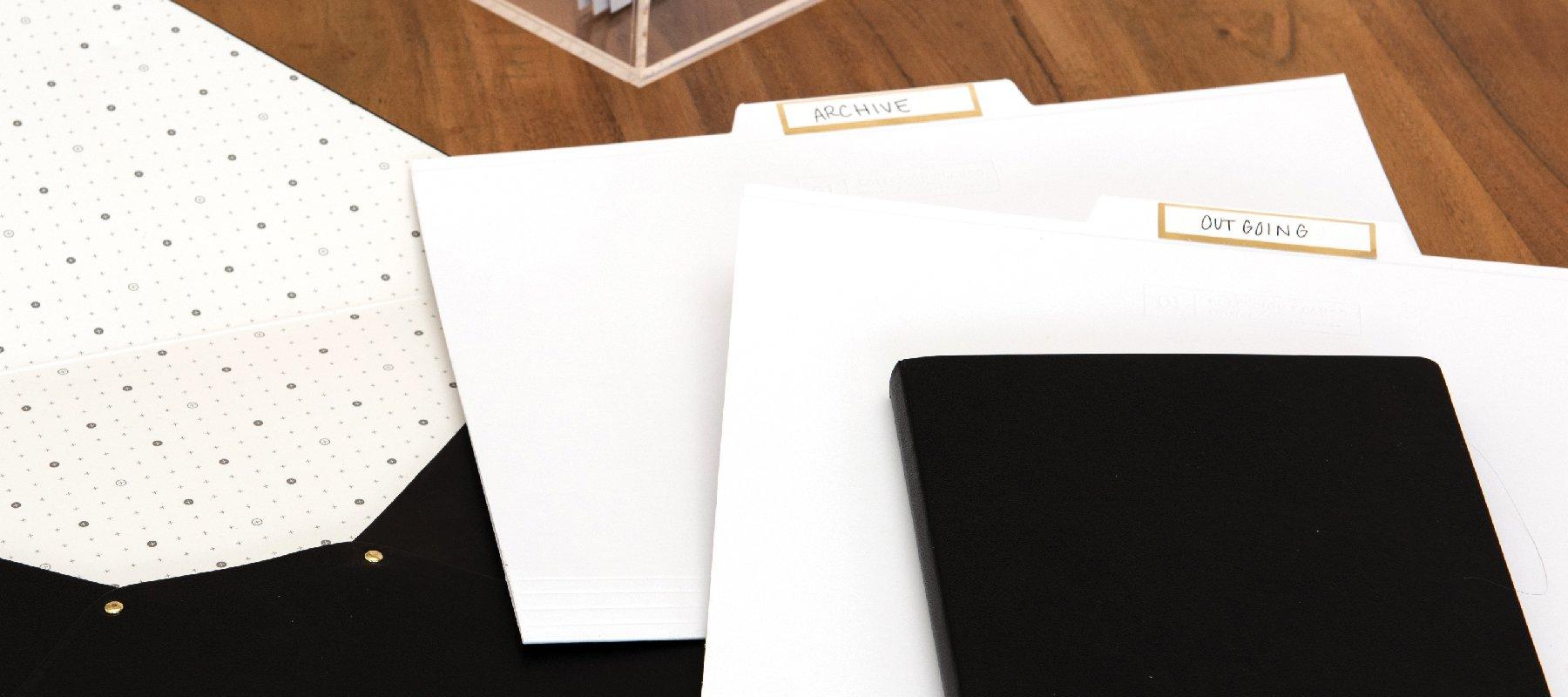 Filing Folders - russell+hazel