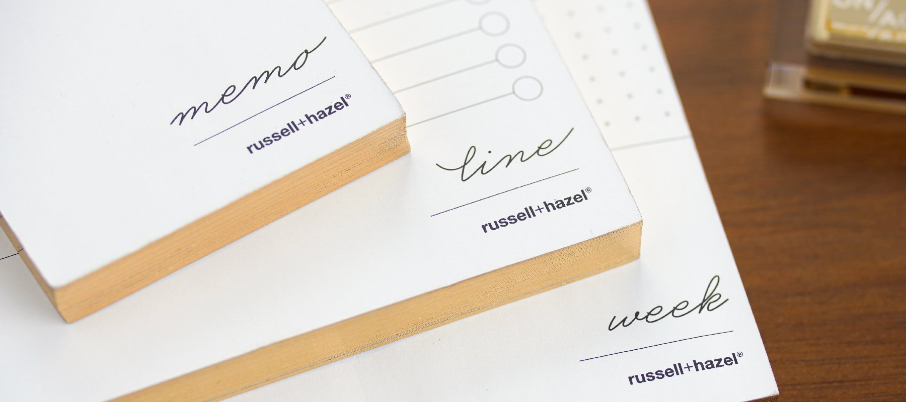 Undated Planners - russell+hazel