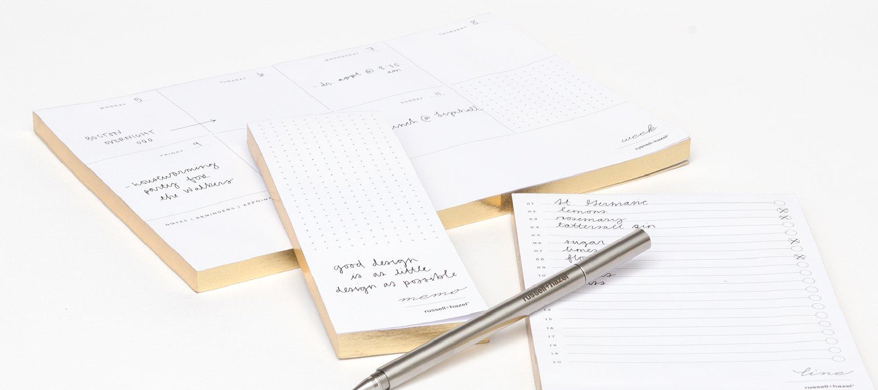 Perpetual Calendars - russell+hazel