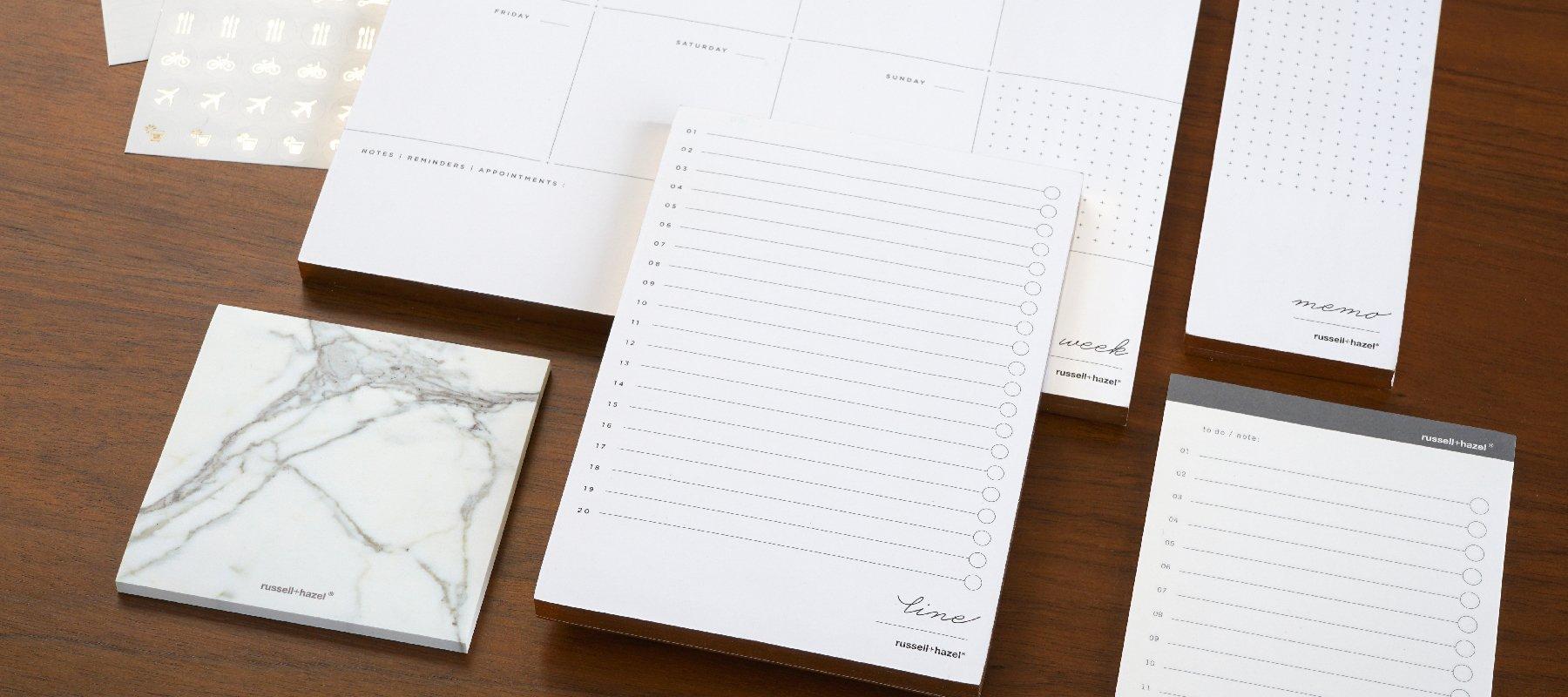 Notes + Notepads - russell+hazel