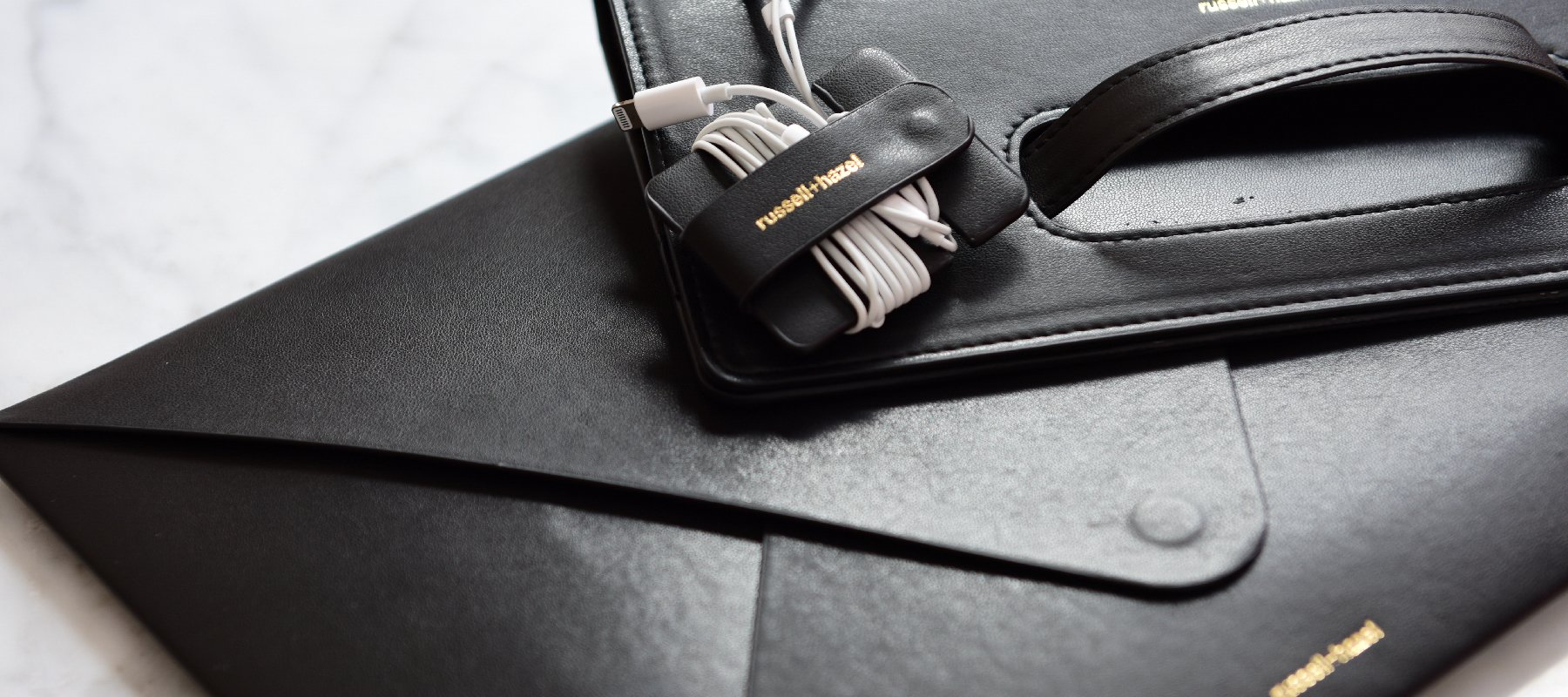 Vegan Leather Accessories - russell+hazel