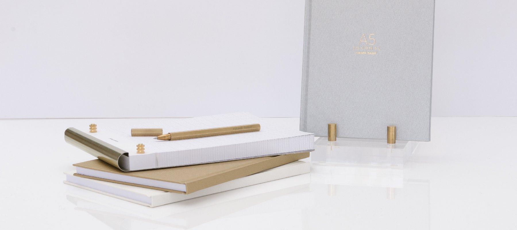 Bookcloth Journals  russell+hazel