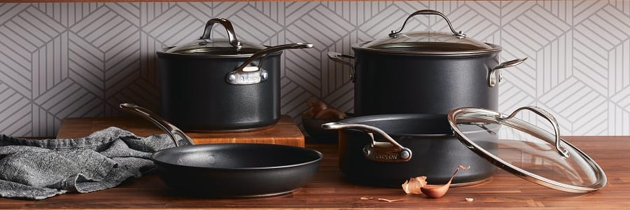 Anolon X hybrid non stick cookware range - discover the best pan for searing!