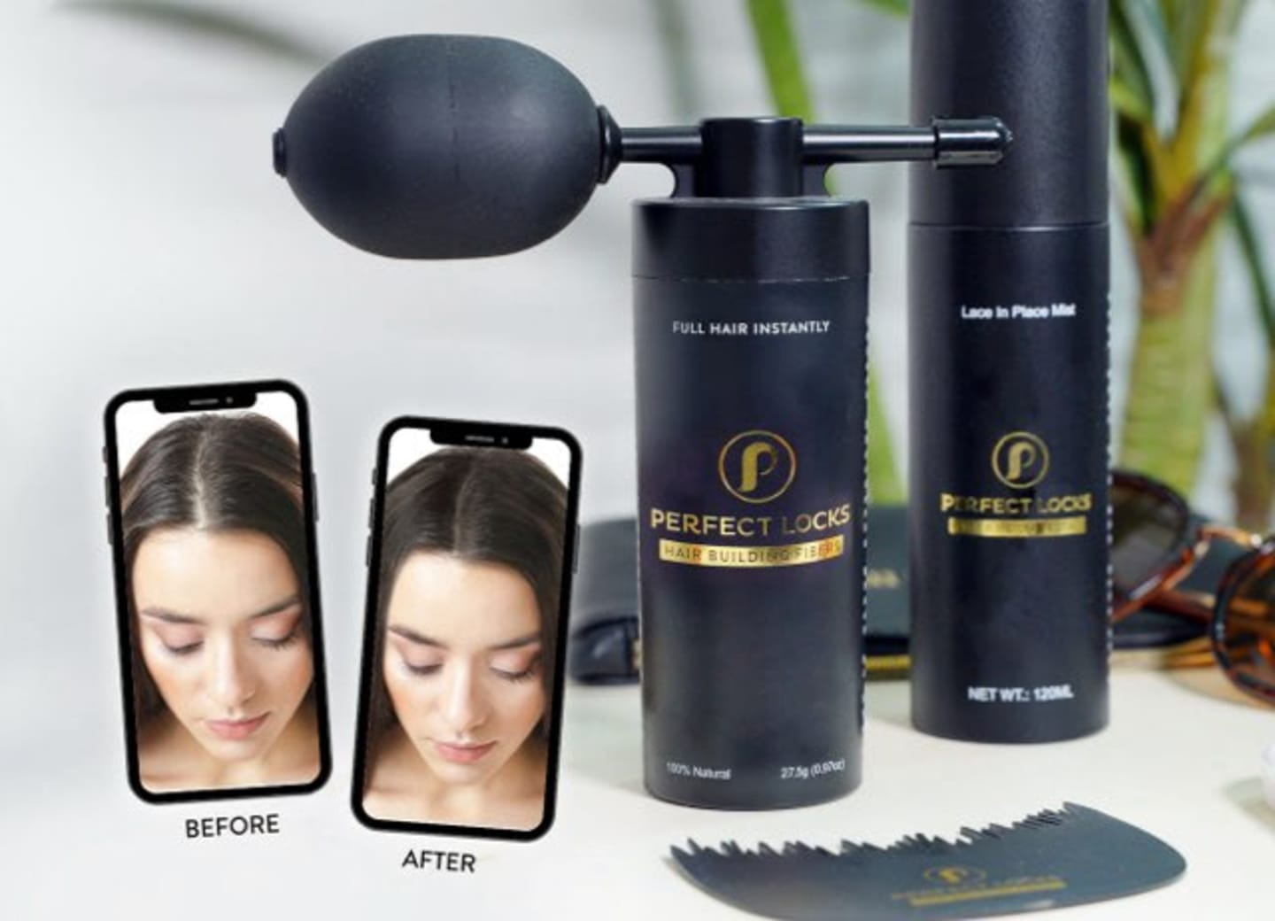 hair building fiber products