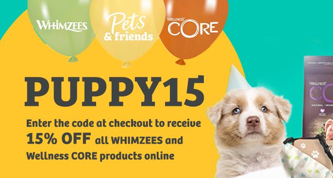 Whimzees & WellnessCORE Puppy