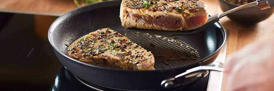 Induction cookware from Anolon UK. Shop our range of professional induction friendly pans today