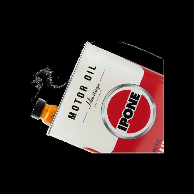 Bidon héritage 10W50 huile moteur moto ipone