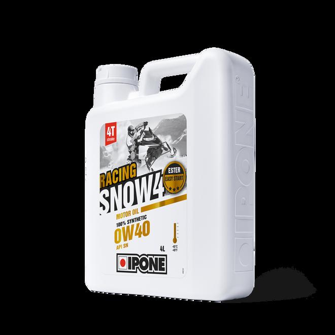 Bidon 4L SNOW 4 RACING huile moteur pour motoneiges 4 temps ipone