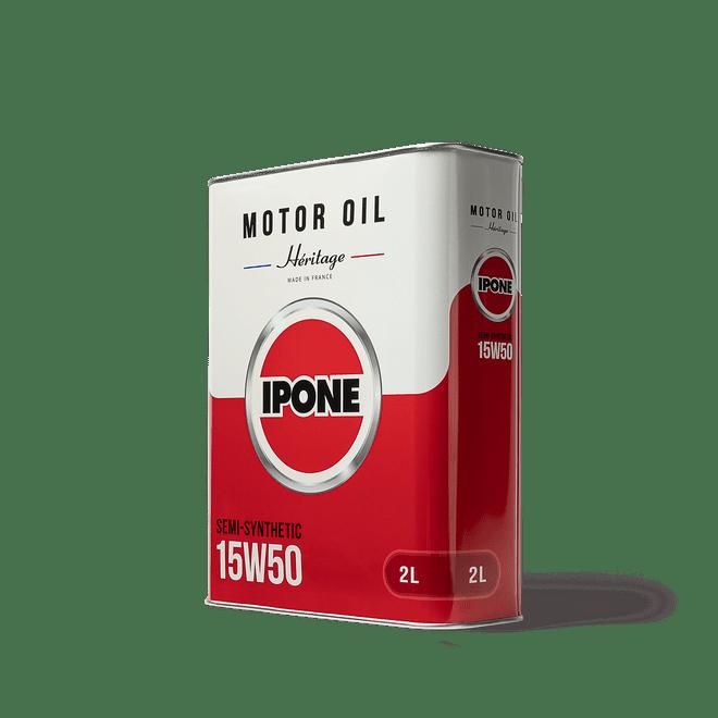 Bidon héritage 15W50 huile moteur moto ipone