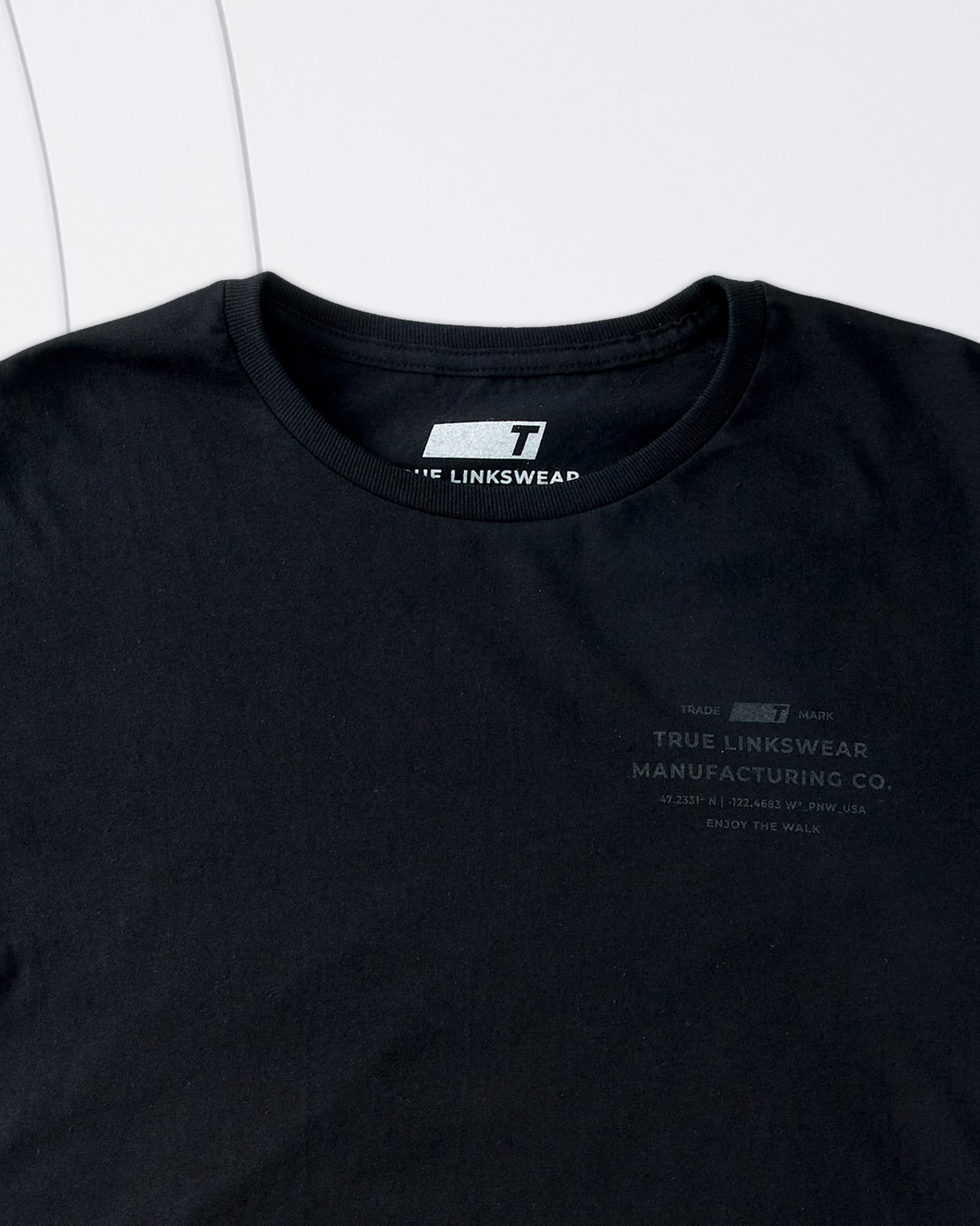 Small / Black on Black