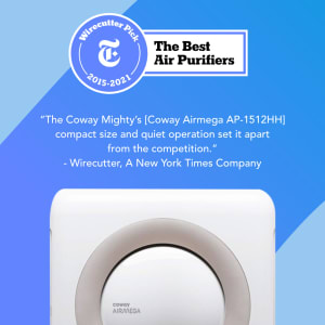 Coway Airmega AP-1512HH White – The best air purifier since 2015 by Wirecutter publication.