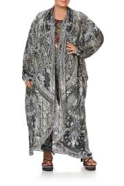 LONG CASUAL JACKET WITH POCKETS ONE TRIBE