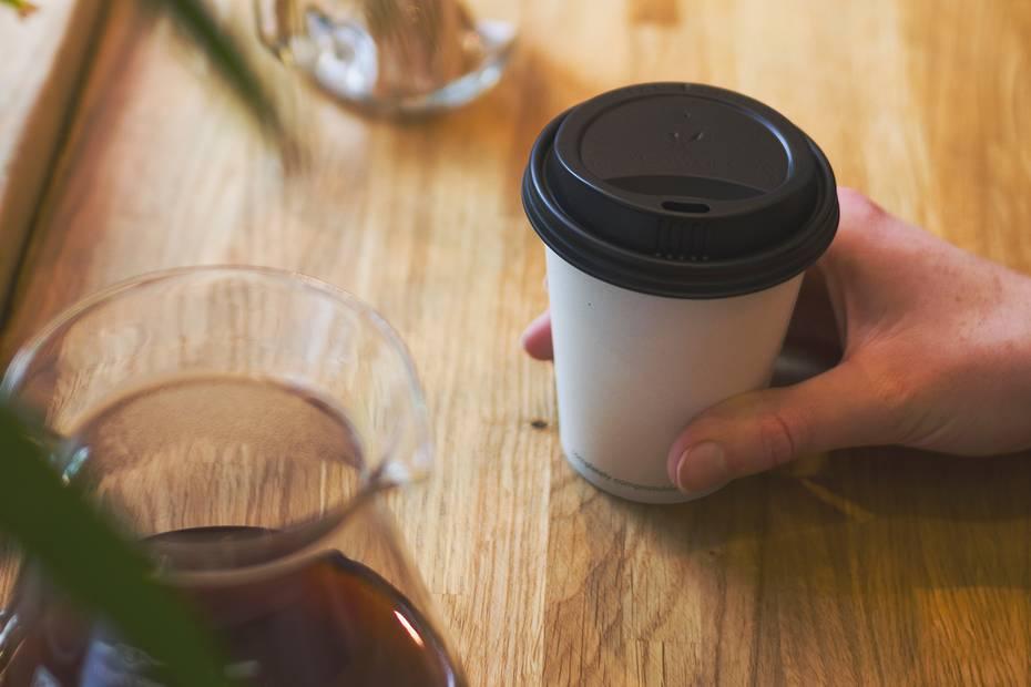 8oz (250ml) White Single Wall coffee cup - 79 series