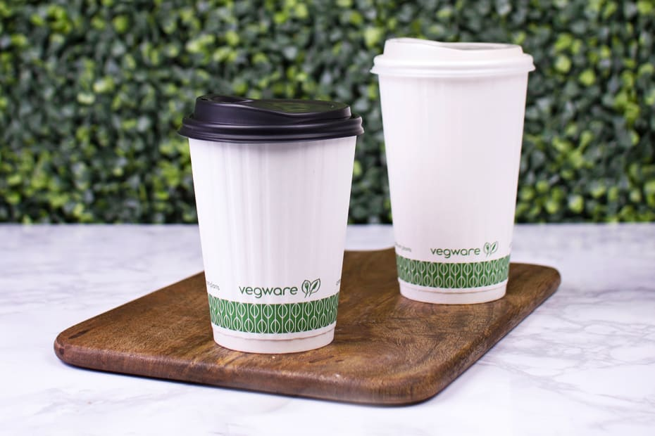 12oz (360ml) White Double Wall coffee cup - 79 series