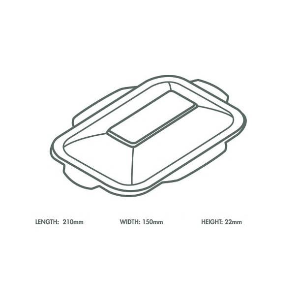 White Bagasse Hot Lid - V3 Range