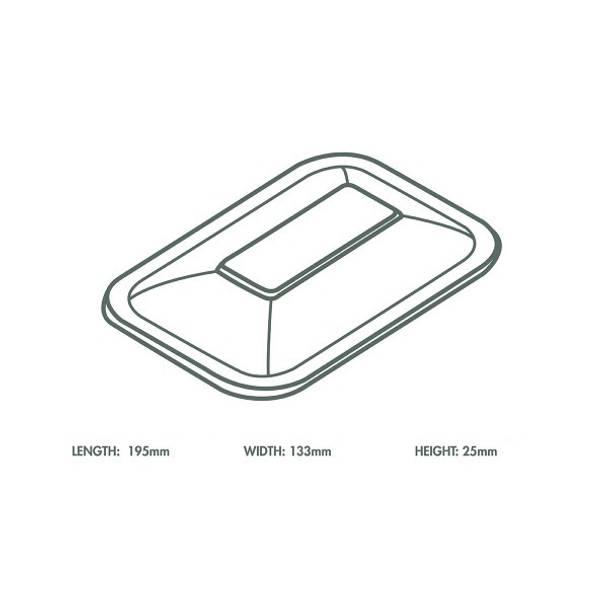 Clear PLA Cold Lid - V3 Range