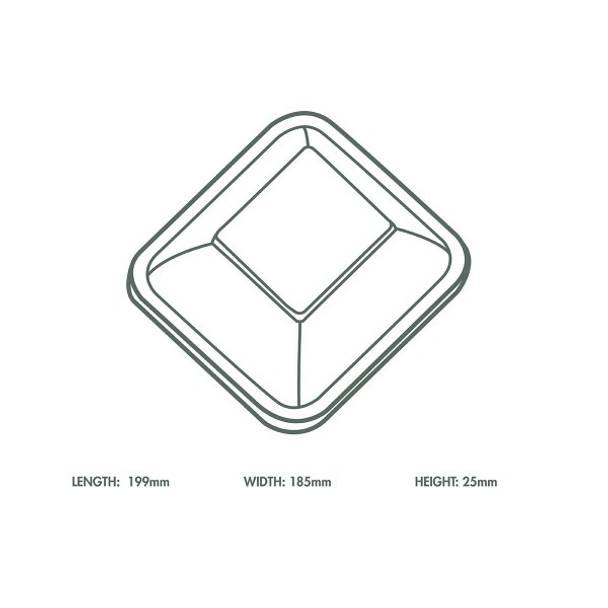 Clear PLA Cold Lid - V4 Range