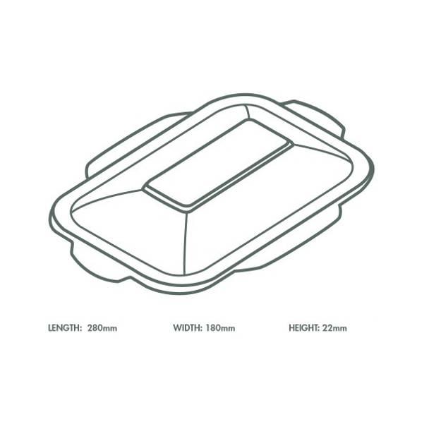 White Bagasse Hot Lid - V5 Range