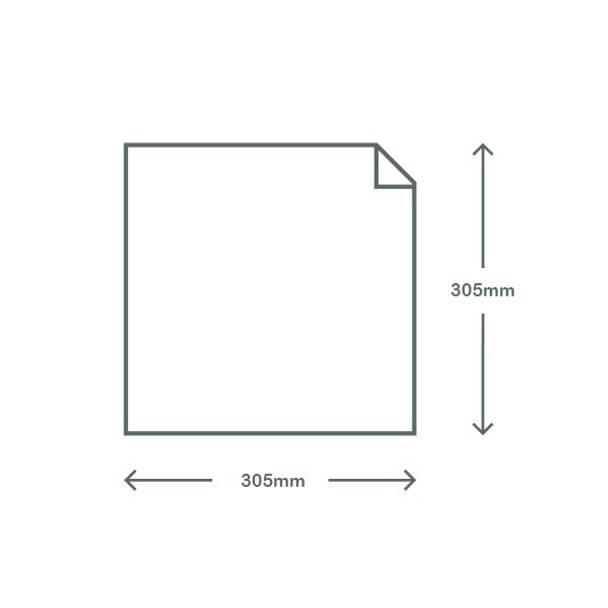 Waxed Deli Paper - Kraft Brown - 30.5 x 30.5cm