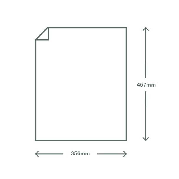 Waxed Deli Paper - Kraft Brown - 35.5 x 45.7cm
