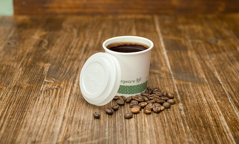 4oz coffee cup lid - opaque - 62 Series (no sipper hole)