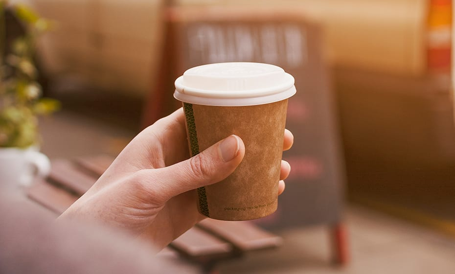 6oz coffee cup lid - opaque - 72 Series