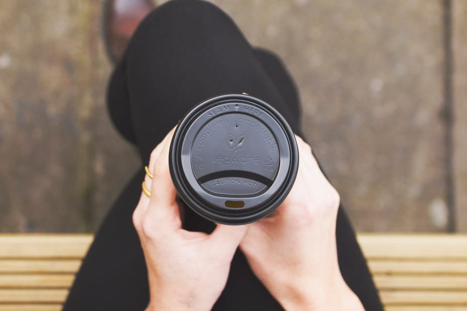 Small coffee cup lid - black - 79 Series