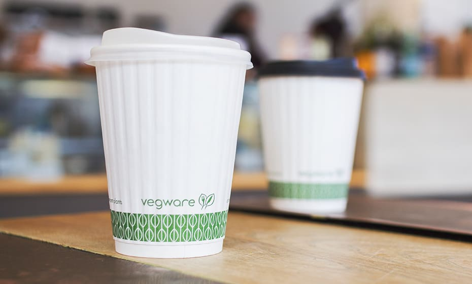 Large coffee cup lid - opaque - 89 Series