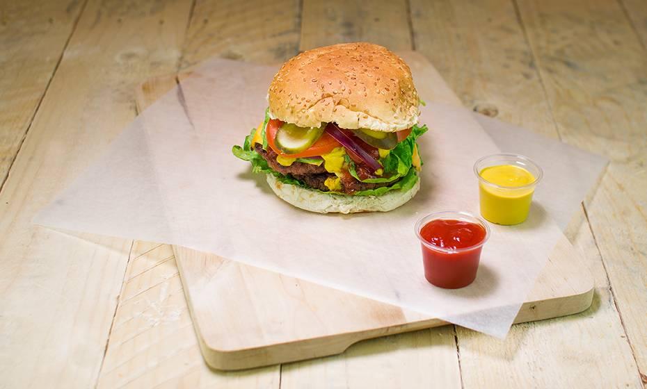 Greaseproof Burger Wrap / Sheet - White - 25 x 33cm