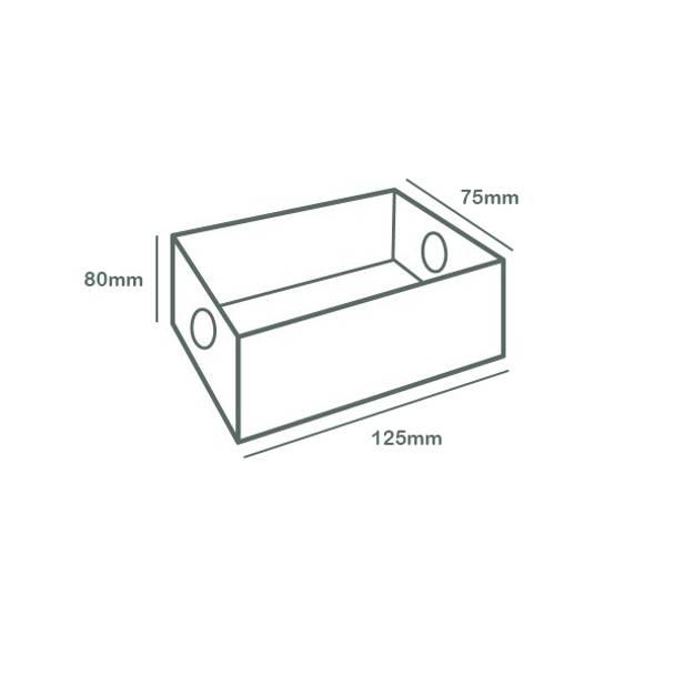 Platter Box Insert (Quarter Regular Platter, Eighth Large Platter)