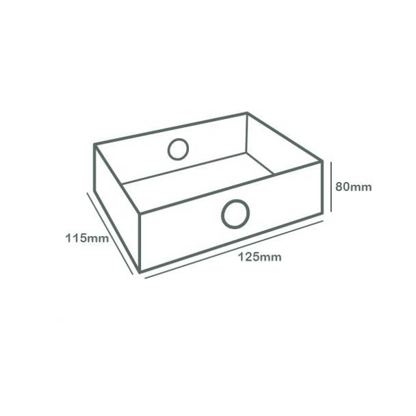 Platter Box Insert (Half Regular Platter, Quarter Large Platter)